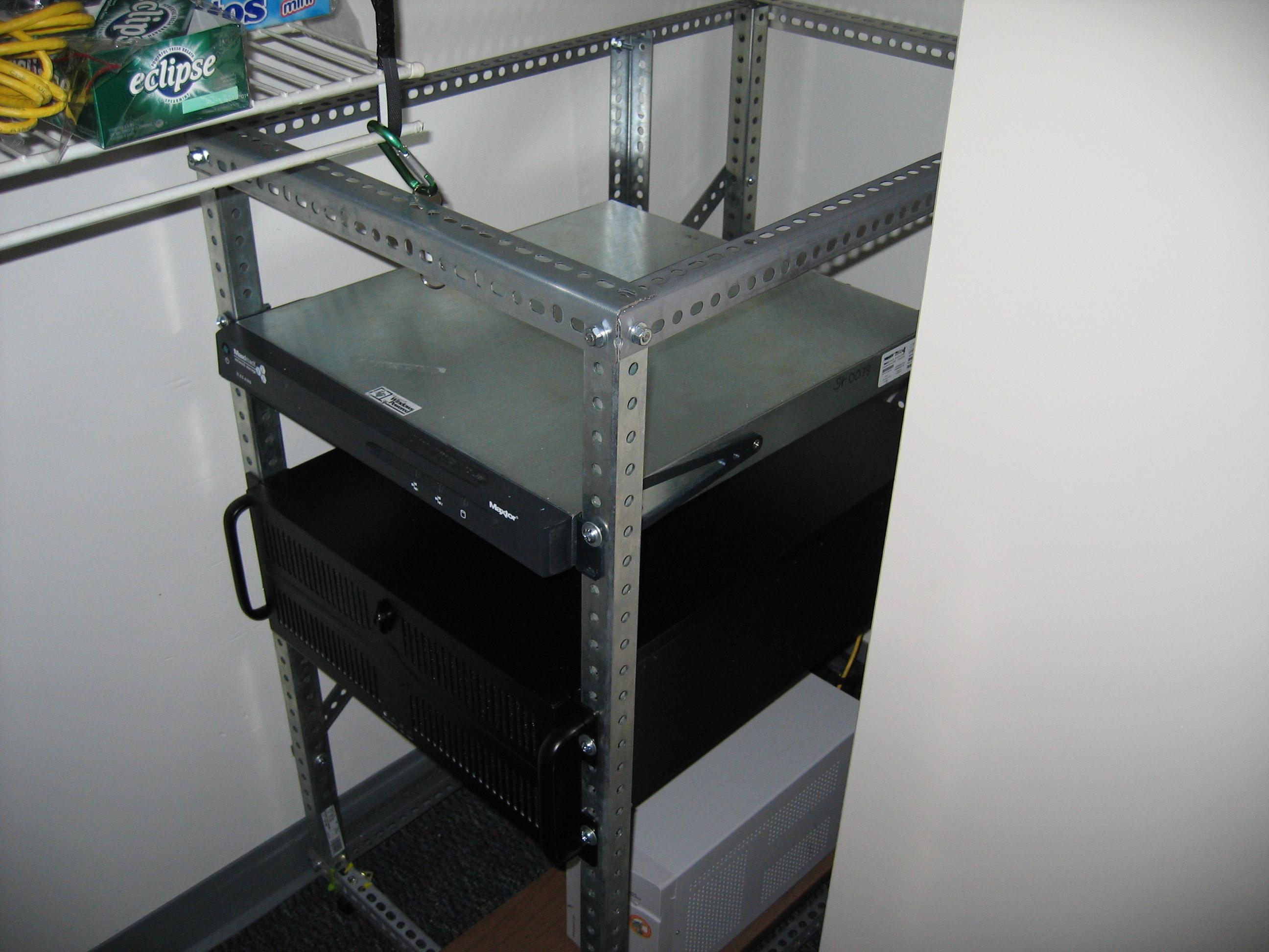 DIY ~20U server rack | Deadly Computer Blog