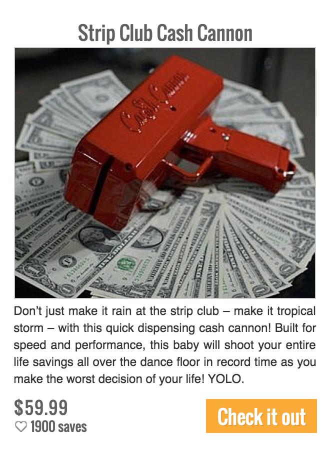 strip club gun