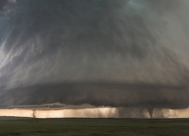 Two Tornados