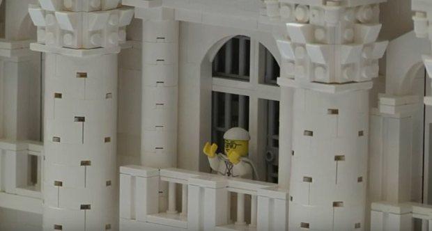 LEGO Pope