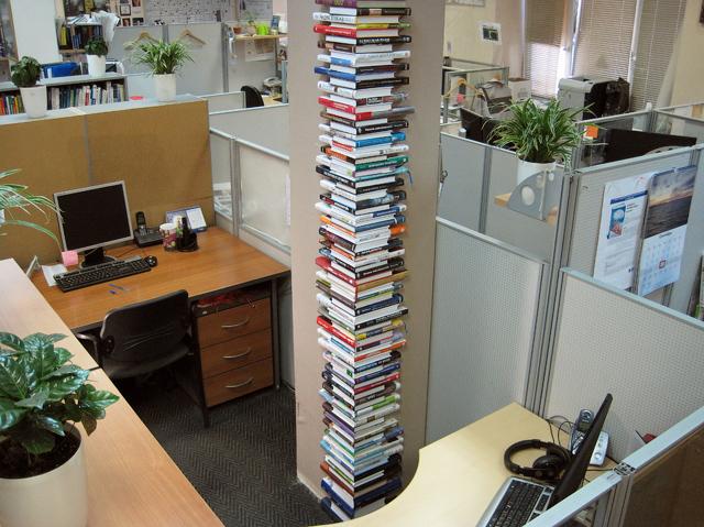book pillar