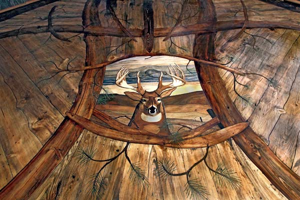 Hardwood Buck floor