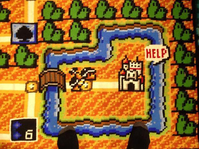 Mario Blanket 2