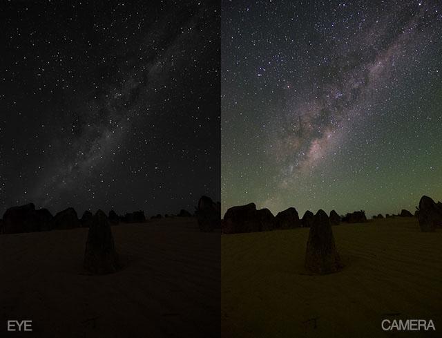 night sky compare