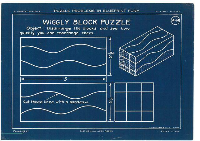 wiggly block