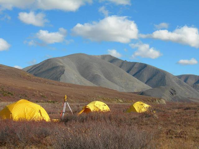 Camping in Kobuk