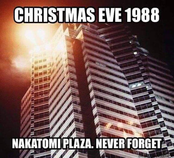 Christmas Eve 1998: Nakatomi Plaza, Never Forget