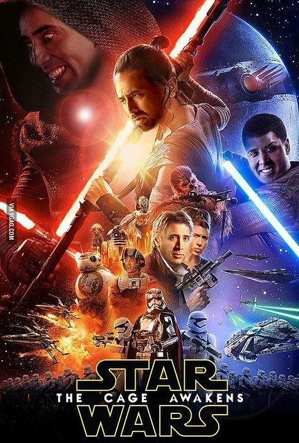 Nicolas Cage Star Wars