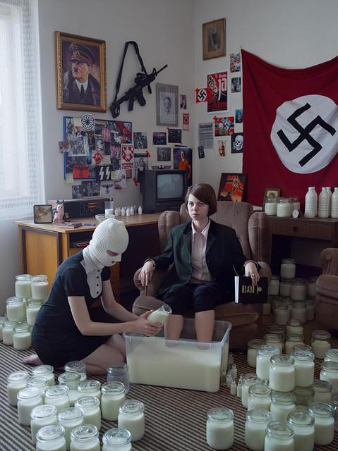 Nazi Milk Girl
