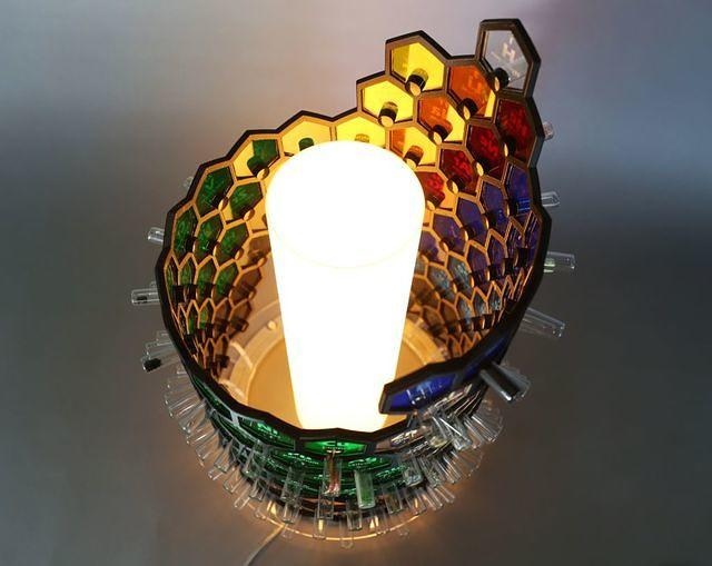 Periodic Lamp lit up