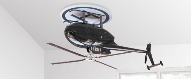Chopper Ceiling Fan