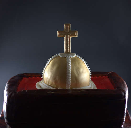 The Holy Hand Grenade cake