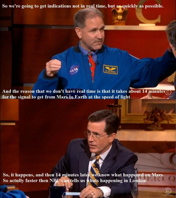 NASA vs NBC