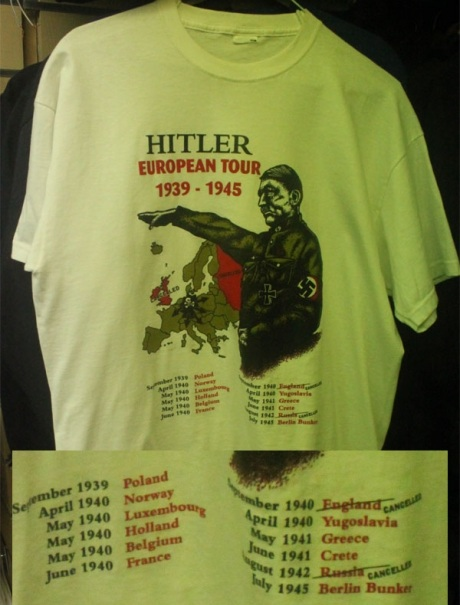 Hitler, the European Tour